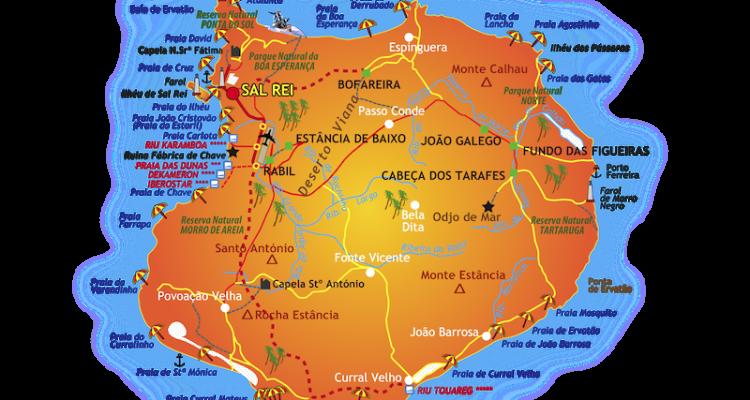 isola di Boavista Cabo Verde