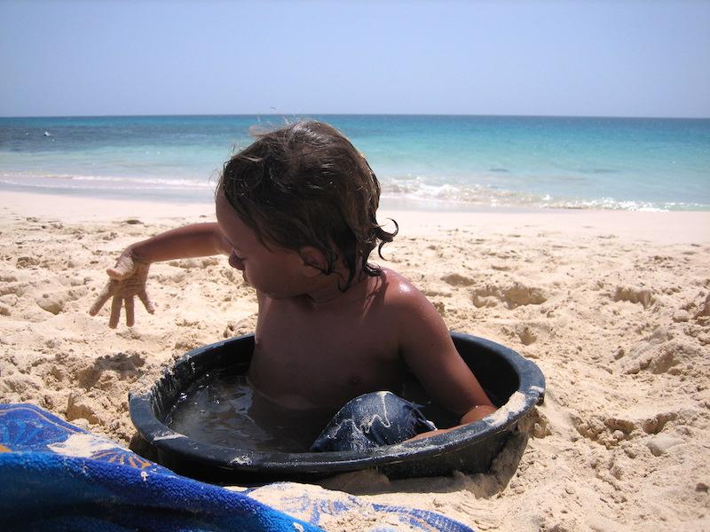 Spiaggia a Boavista