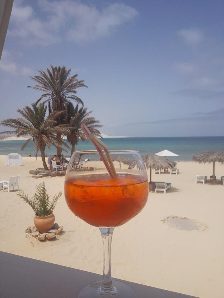 aperitivo spiaggia capoverde