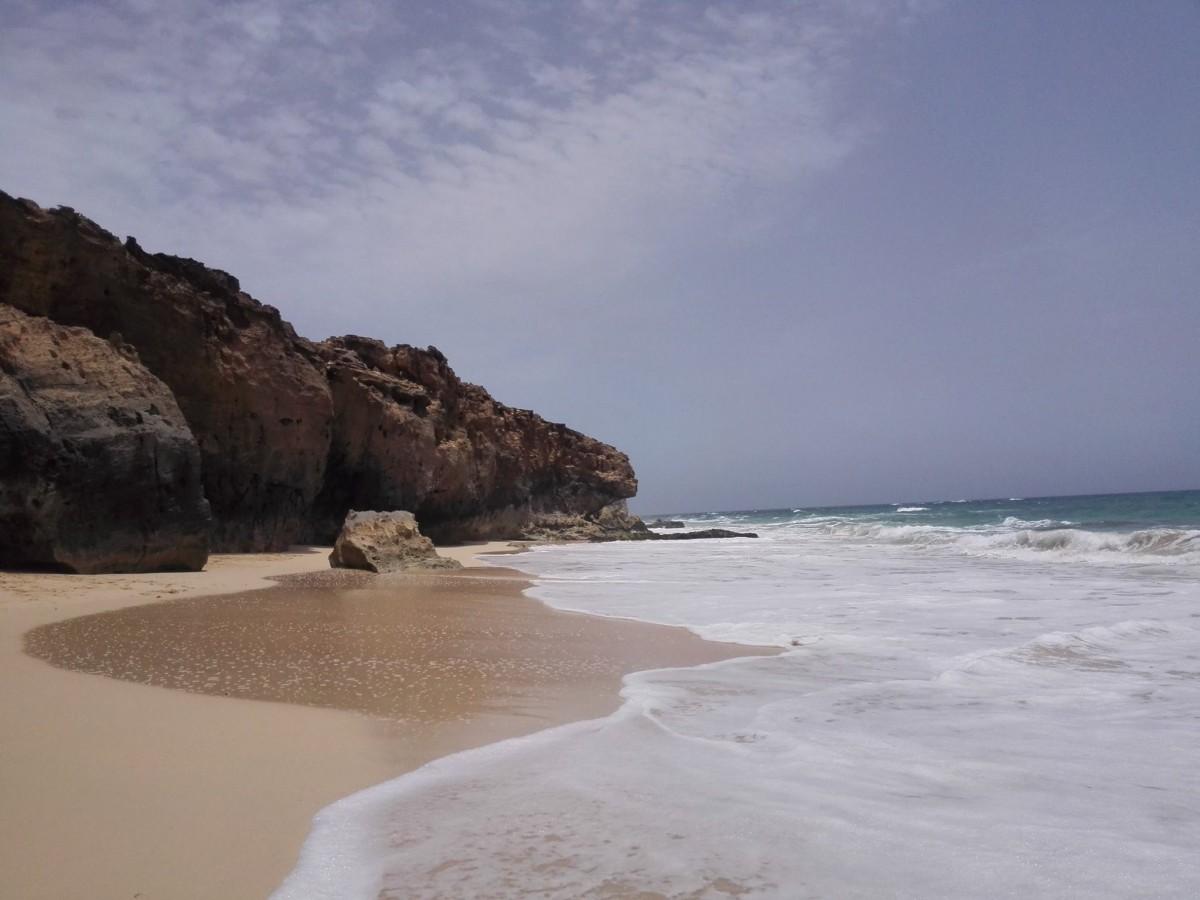 praia di Varandinha Boavista