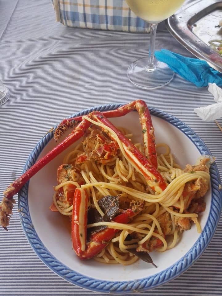 spaghetti aragosta Capoverde