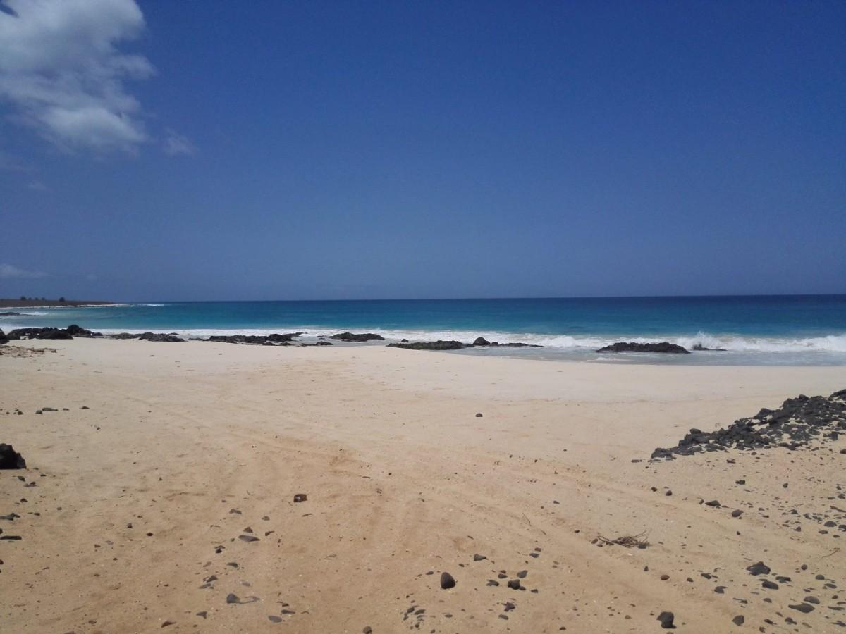 spiaggia Capoverde Boavista