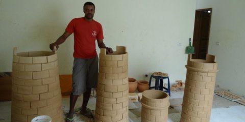 L'artigianato locale a Boavista Capo Verde