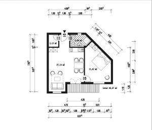 pianta appartamento in vendita a Boavista