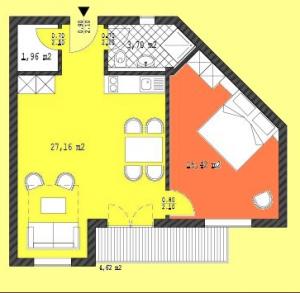 mappa appartamento in vendita a Boavista