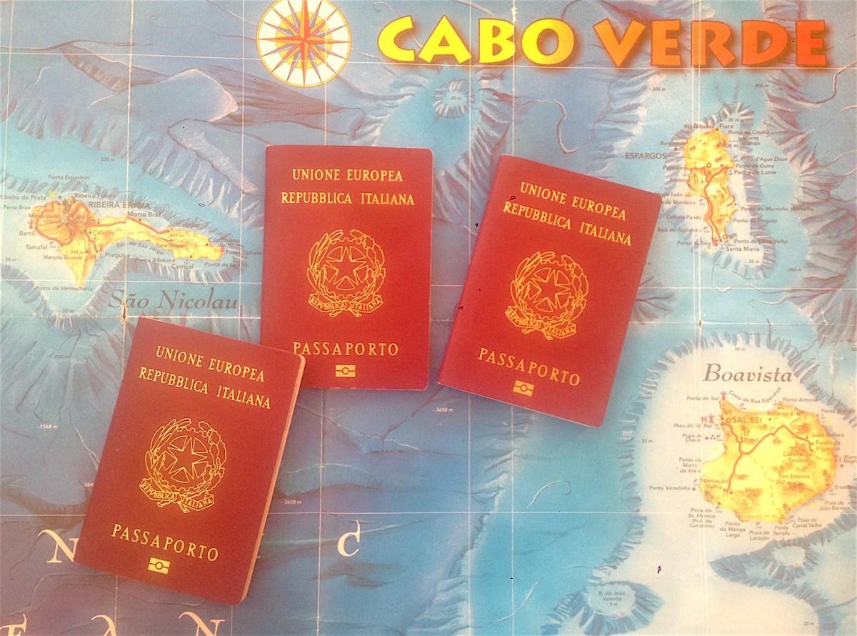 visto d'ingresso turistico per Capoverde