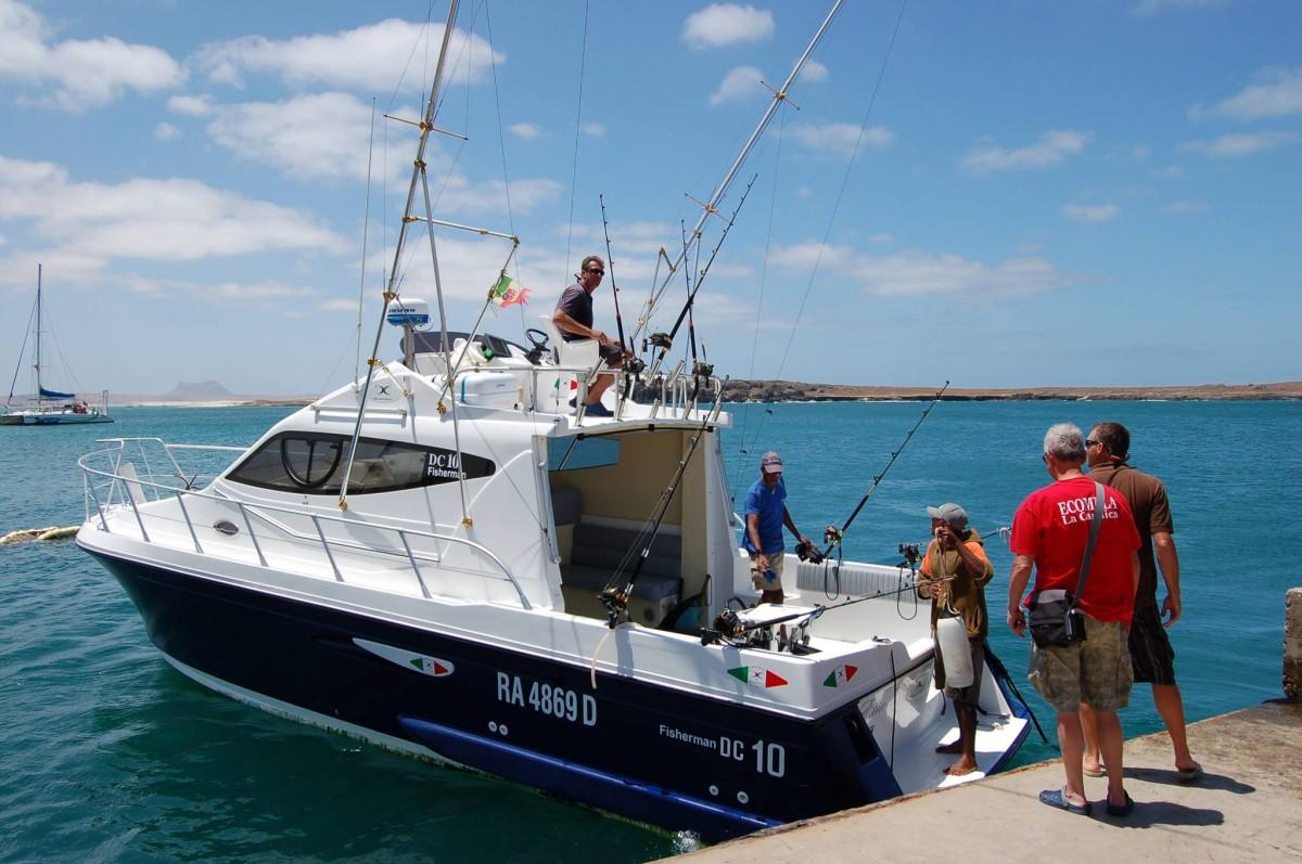 pesca al Marlin Elias II