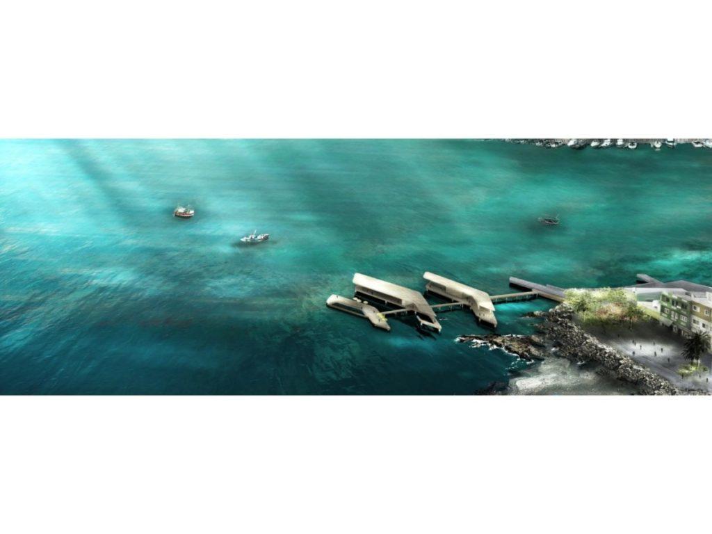 riqualificazione dei confini Marini di Boavista