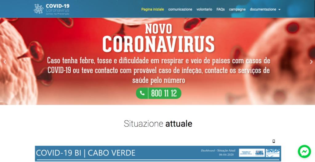 Covid19.cv Capo Verde coronavirus