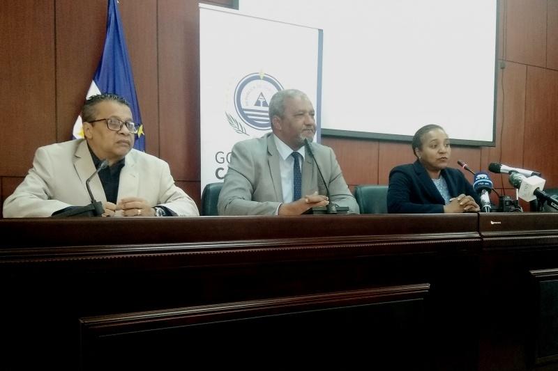 conferenza coronavirus Cabo Verde