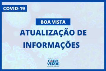 informazioni COVID19 in Boavista